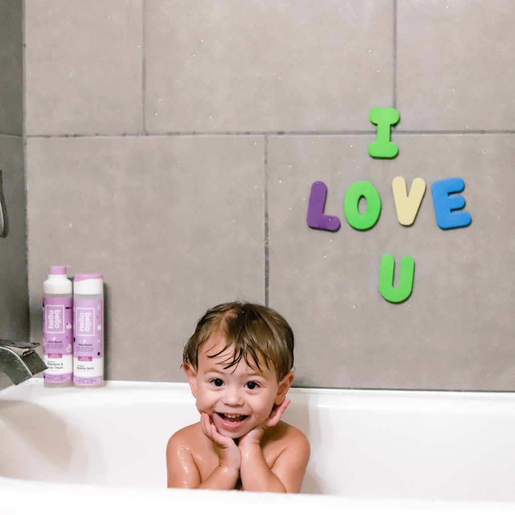 Hello Bello bubble bath and shampoo. Walmart baby registry.