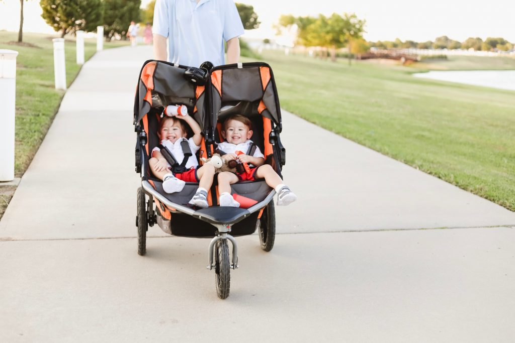 twin dad double bob stroller walmart baby registry checklist