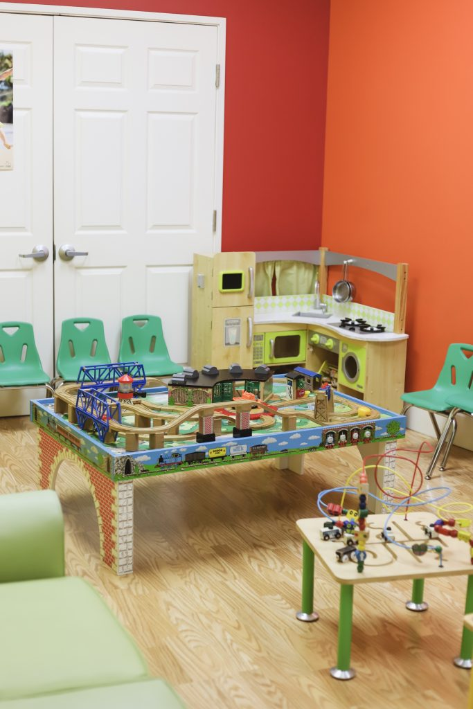 playroom at hair salon
